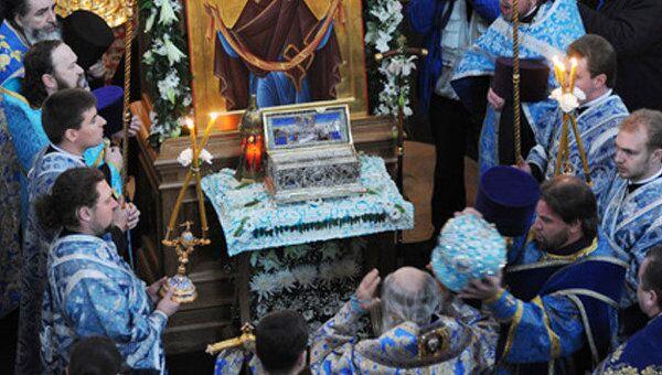 Пояс Пресвятой Богородицы привезут в Москву в субботу