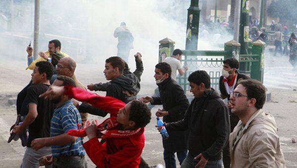 Беспорядки в Каире 19 ноября 2011 года