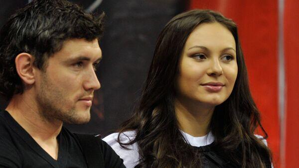 Футболист Юрий Жирков с супругой Инной