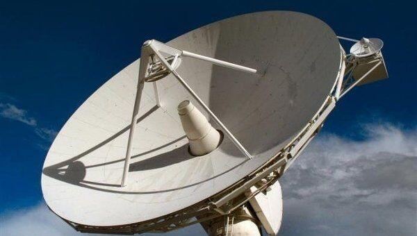 Антенна европейской космической станции слежения в австралийском Перте