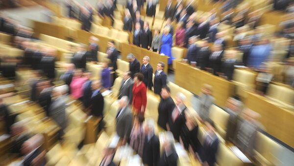 Последнее заседание Госдумы. Архивное фото