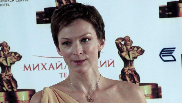 Телеведущая Татьяна Лиманова. Архив