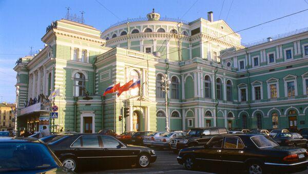 Мариинский театр оперы и балета. Архивное фото