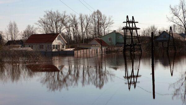 ЧС из-за паводка могут возникнуть в 47 регионах, включая Ленобласть - РИА  Новости, 03.06.2013