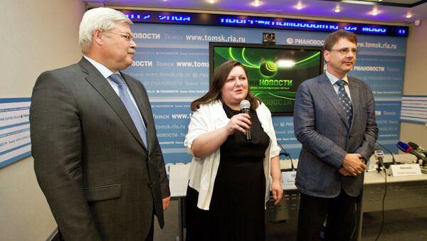 Открытие сайта РИА Новости в Томске