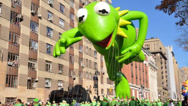 Парад на День благодарения в Нью-Йорке. Архивное фото