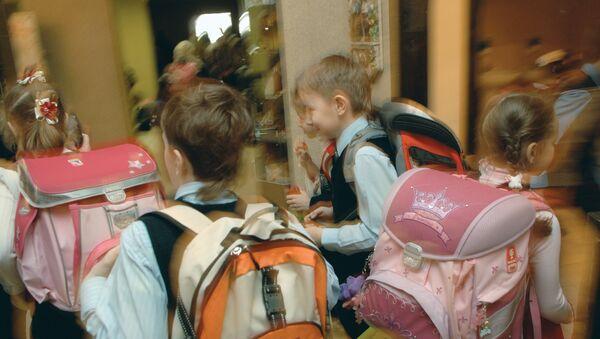 Школьные ранцы, архивное фото