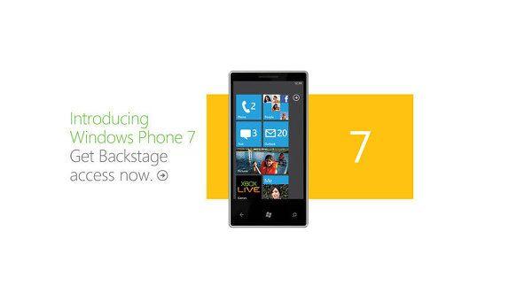 Microsoft: запуск Windows Phone 7 состоится 11 октября
