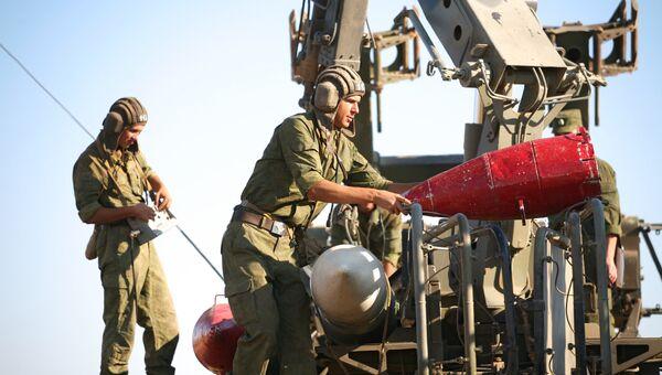 Учения войск ПВО Западного военного округа на полигоне Капустин Яр