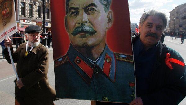 Первомайские шествия в Санкт-Петербурге. Архив