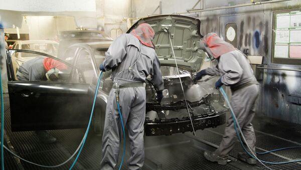 Завод по производству автомобилей Ford во Всеволожске