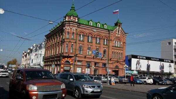 Виды Томска. Гастроном Нижний, архивное фото