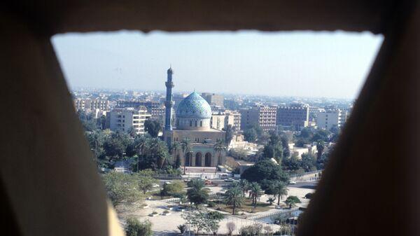 Ирак. Город Багдад. Архивное фото