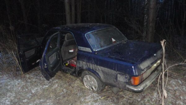 Томские инспекторы в погоне со стрельбой задержали угонщика Волги