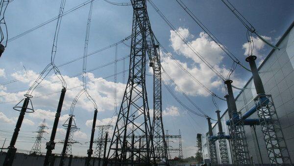 Подстанция Московского энергетического кольца, архивное фото