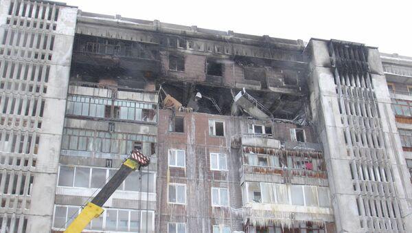 Третий день после взрыва в доме на Сибирской