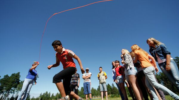 Работа детских летних лагерей. Архивное фото
