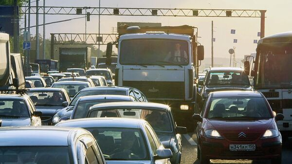 Автомобильные пробки в Москве
