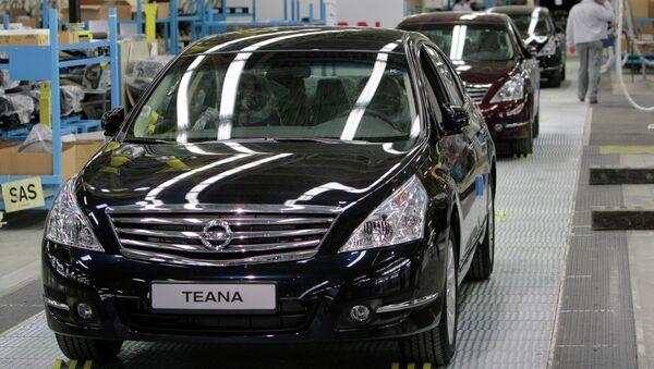 Nissan Teana. Архивное фото