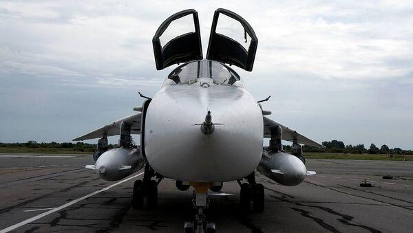Боевой самолет. Архивное фото