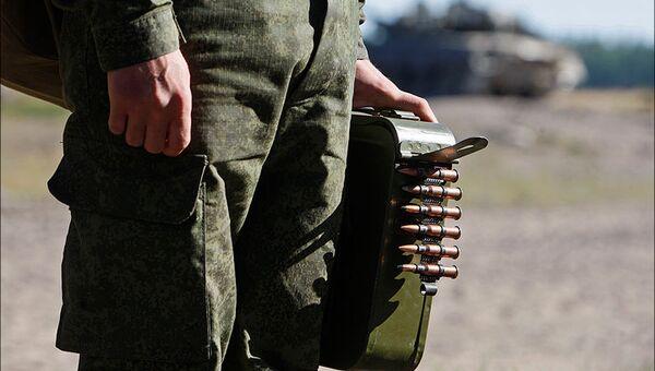 Солдат ЗВО. Архивное фото