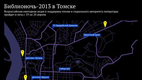 Библионочь-2013 в Томске