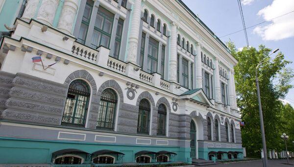 Научная библиотека ТГУ, архивное фото