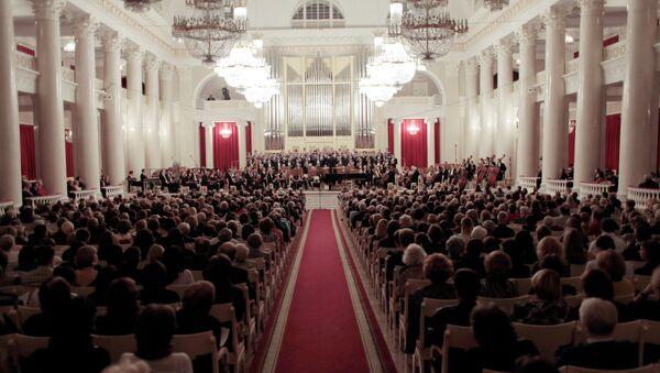 Концерт в рамках фестиваля Дягилев. P.S. Архивное фото
