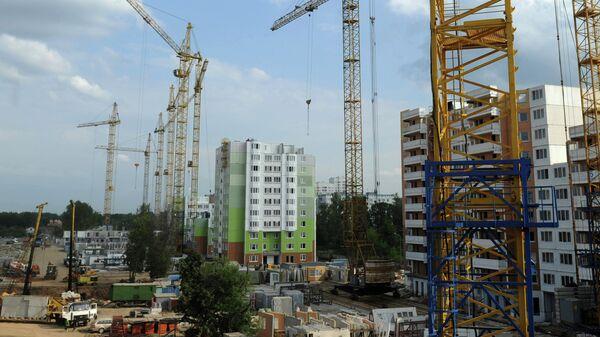 Строительство жилого комплекса в Химках