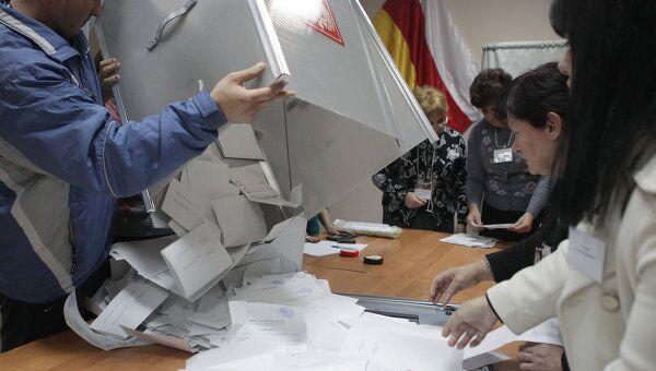 Второй тур президентских выборов в Южной Осетии