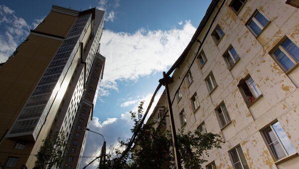 Жилые дома по улице Ивана Бабушкина
