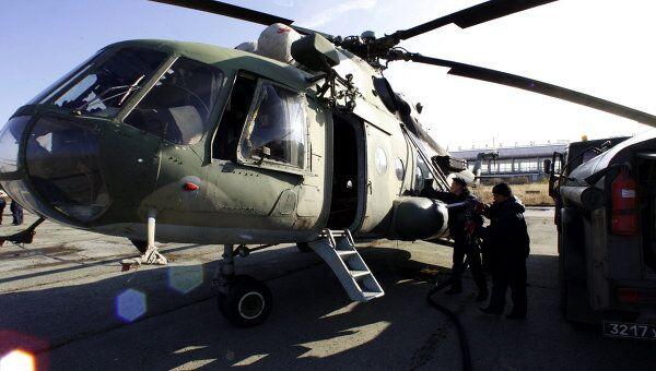 Российский вертолет Ми-8. Архивное фото