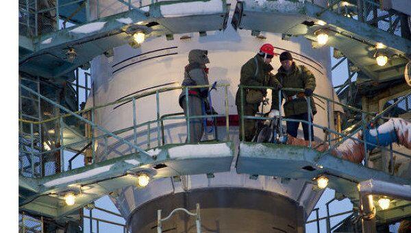 Ракета Союз с навигационным спутником Глонасс-М. Архивное фото