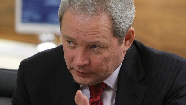 Министр регионального развития РФ Виктор Басаргин. Архив
