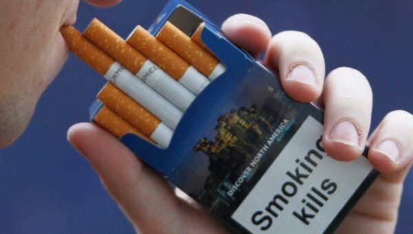 Курение. Архивное фото