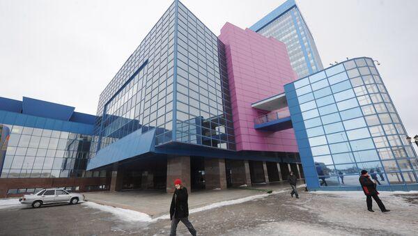 Здание завода ОАО АвтоВАЗ в Тольятти. Архивное фото