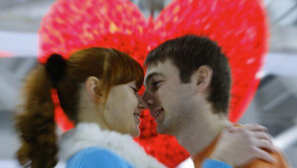 День святого Валентина. Архивное фото