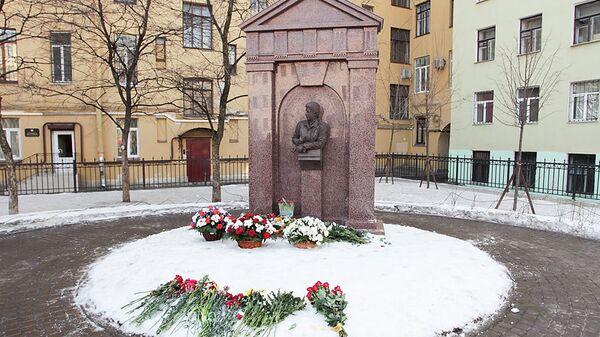 Открытие памятника убитому вице-губернатору Маневичу