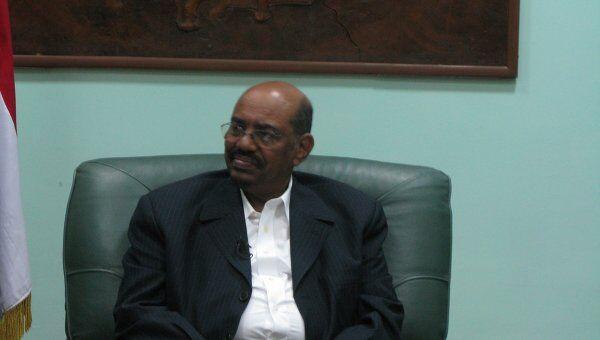 Президент Судана Омар Хасан Ахмед аль-Башир. Архив