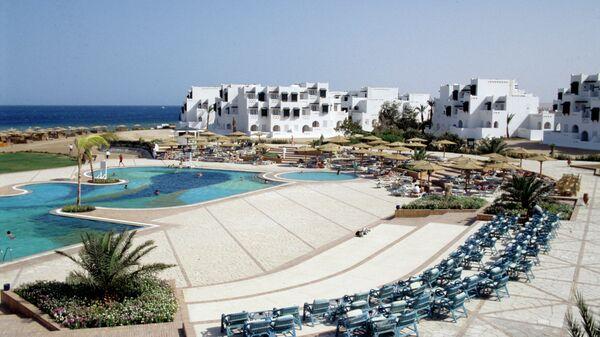 Отель на берегу Красного моря