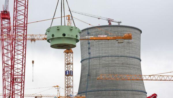 Строительство Ленинградской АЭС-2. Архивное фото