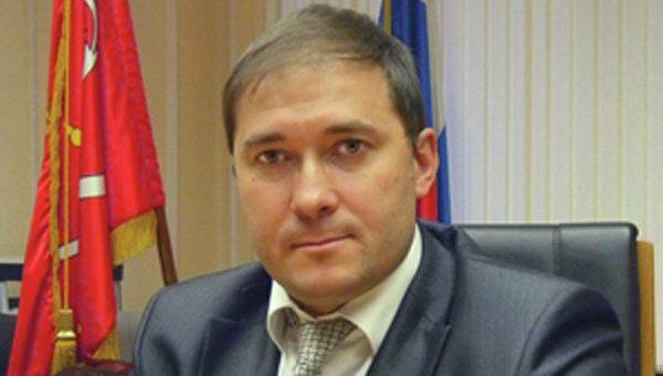 Первый заместитель главы администрации Приморского района Вадим Моисеев