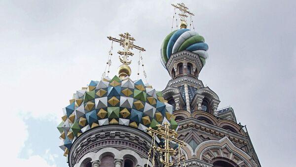 Храм Воскресения Христова (Спас-на-Крови) в Петербурге. Архивное фото