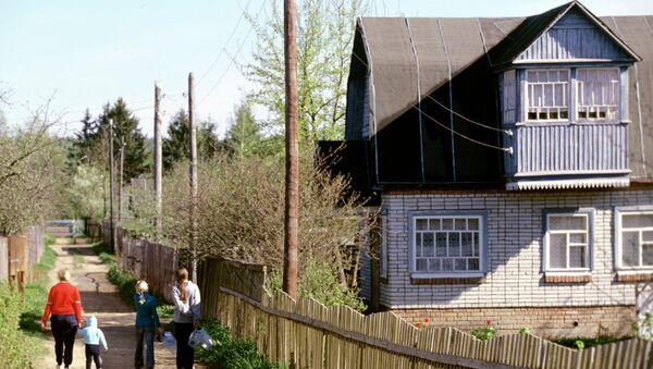 Дачный поселок. Архивное фото