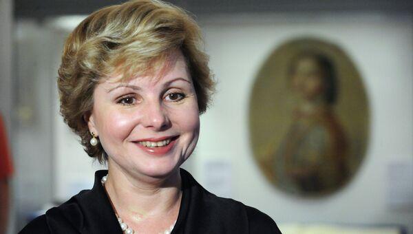 Генеральный директор Музеев Московского Кремля Елена Гагарина