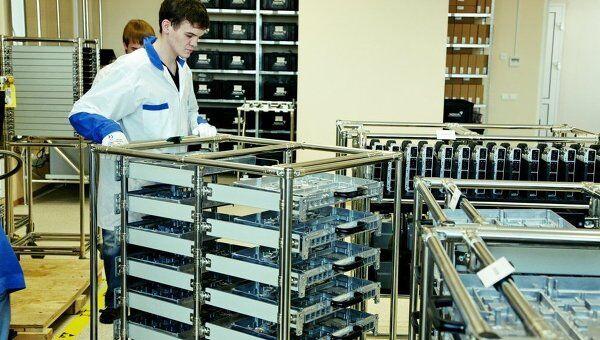 Производство, запущенное Nokia, Siemens и Микран, архивное фото