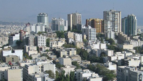 Столица Ирана Тегеран. Архивное фото