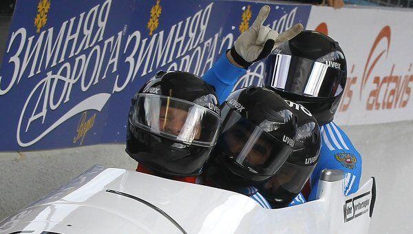 Российский экипаж во главе с Александром Зубковым