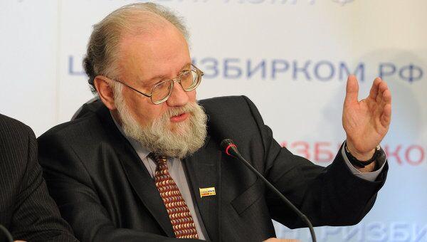 Председатель Центральной избирательной комиссии РФ Владимир Чуров. Архив