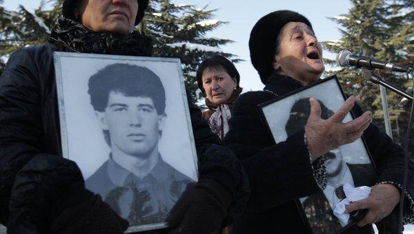 Кандидат в президенты Южной Осетии Алла Джиоева